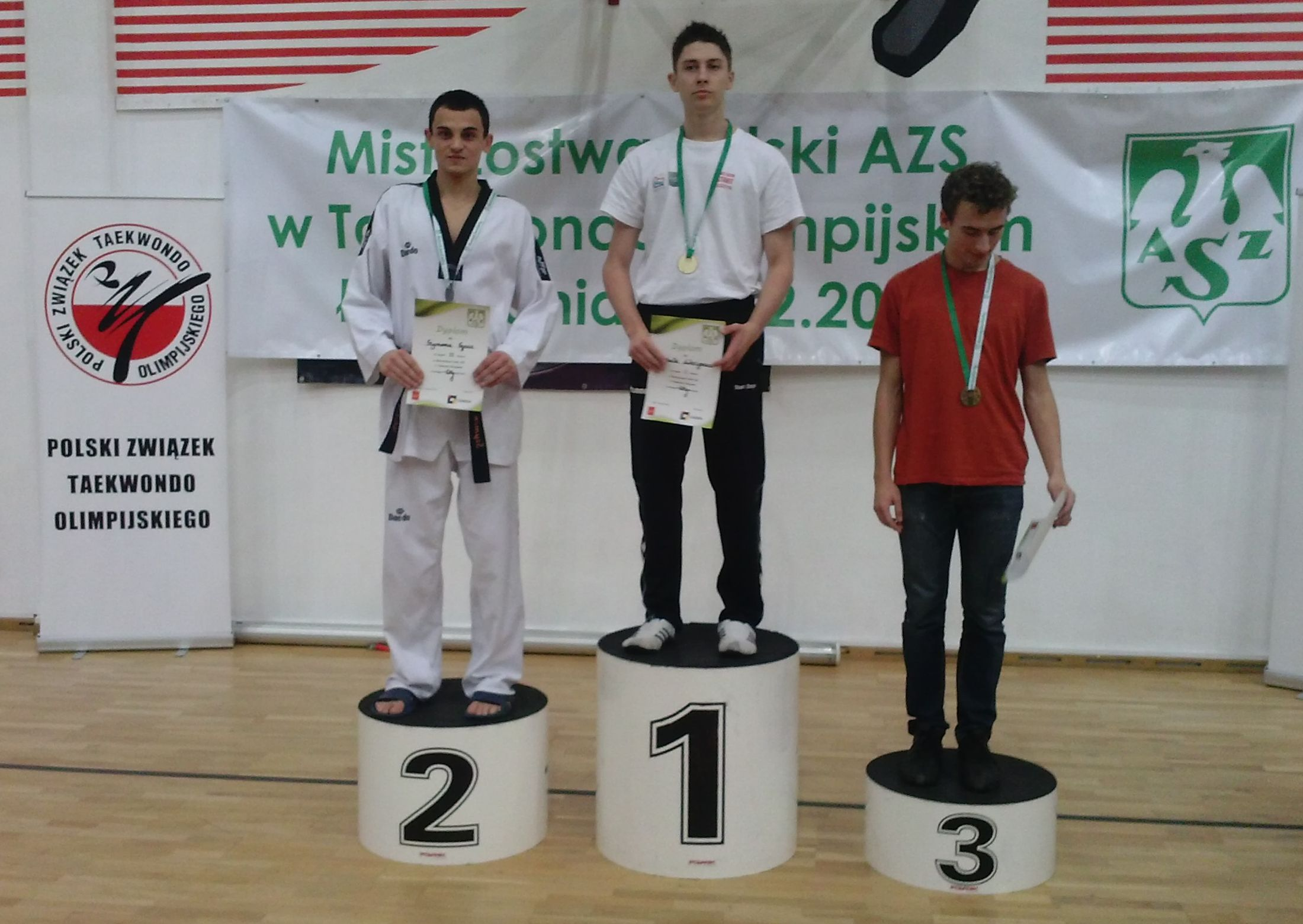 Szymon Sycz II miejsce kat. -68 kg