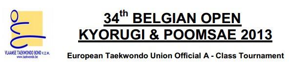 34 Belgian Open
